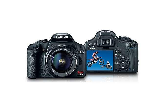 Nikon D3100 vs Canon 500D_Canon 500D